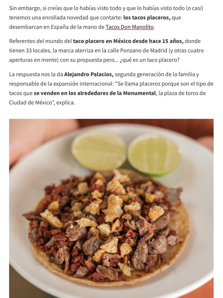 Directo al Paladar Tacos Don Manolito Ponzano