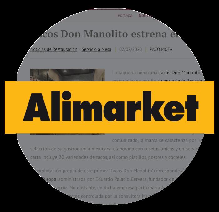 Revista Alimarket Tacos Don Manolito