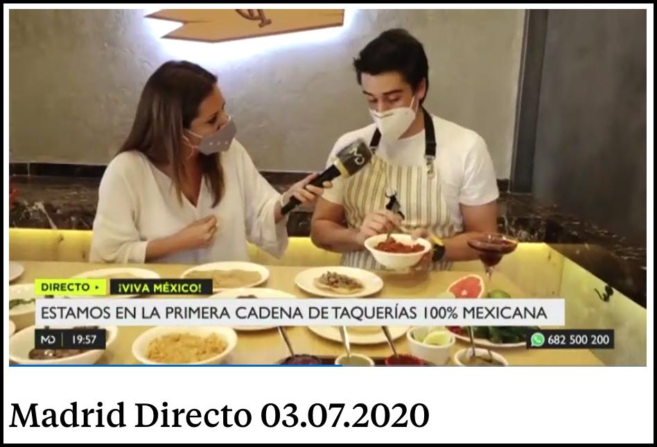 Telemadrid Madrid Directo Tacos Don Manolito Madrid